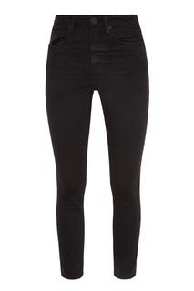Черные джинсы средней посадки One Teaspoon