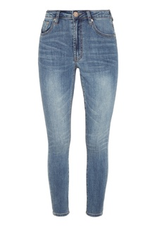 Укороченные джинсы скинни One Teaspoon
