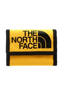 Желтый бумажник с логотипом The North Face