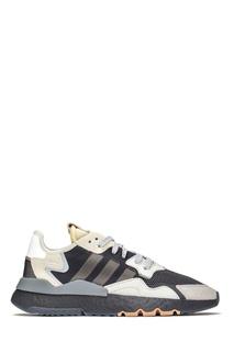 Комбинированные кроссовки с дышащими вставками Adidas