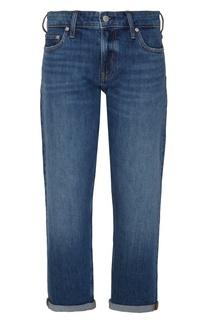 Укороченные джинсы с подворотами Calvin Klein