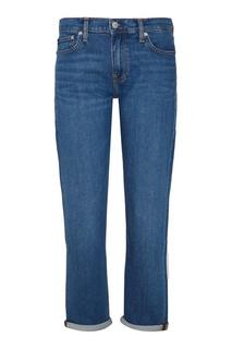 Прямые голубые джинсы Calvin Klein