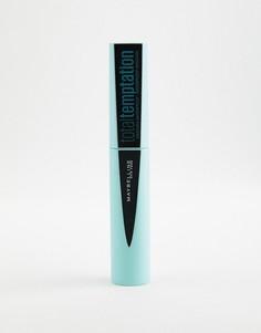 Черная водостойкая тушь для ресниц Maybelline Total Temptation - Синий