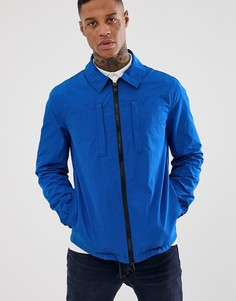 Ярко-синяя куртка в стиле милитари ASOS DESIGN - Синий