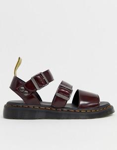 Красные сандалии Dr Martens Vegan Gryphon - Красный