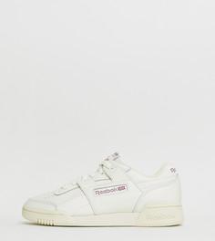 Белые кроссовки Reebok Workout Lo Plus - Белый