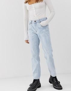 Укороченные джинсы в винтажном стиле из органического хлопка Cheap Monday - Синий