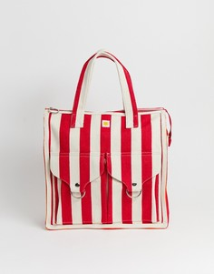 Пляжная сумка в полоску L.F.Markey - Красный
