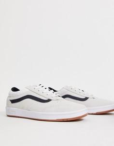 Белые кроссовки Vans Cruze - Белый