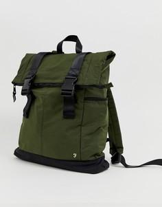 Нейлоновый рюкзак цвета хаки Farah - Зеленый