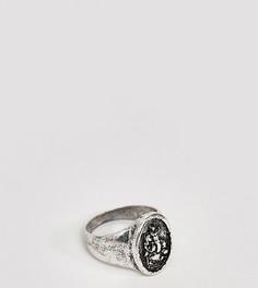 Серебристое кольцо со Святым Христофором Reclaimed Vintage - Серебряный