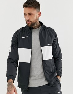 Черная спортивная куртка Nike FC - Черный