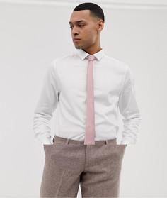 2ca8c09f027d372 Сатиновая приталенная рубашка с розовым галстуком ASOS DESIGN Wedding - Со  скидкой - Мульти