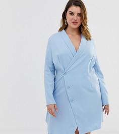 Свободное платье под смокинг Unique21 Hero - Синий
