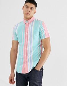 Рубашка классического кроя в полоску New Look - Мульти