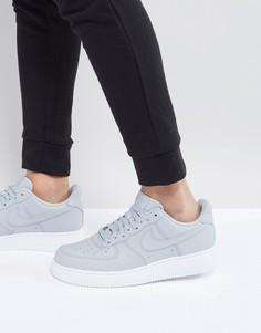 Серые кроссовки Nike Air Force 1 07 - Серый