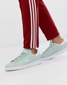 Кроссовки мятного цвета c логотипом-трилистником adidas Originals Stan Smith - Зеленый