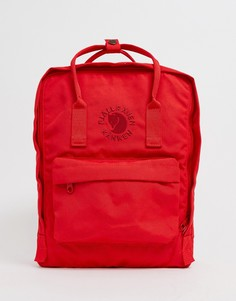 Рюкзак Fjallravern Re-Kanken, 16 л - Красный Fjallraven