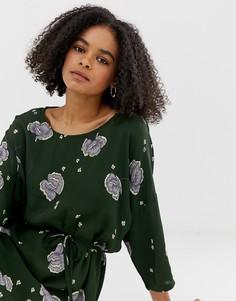Платье с цветочным принтом Minimum - Мульти