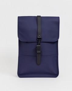 Темно-синий непромокаемый рюкзак Rains 1280 - Темно-синий