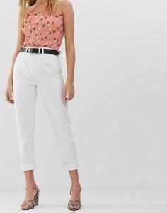 Джинсы в винтажном стиле Only - Белый