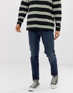 Темные узкие джинсы Levis 511 Adriatic Adapt - Синий