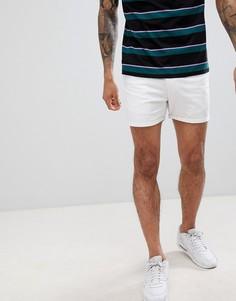 Белые шорты чиносы boohooMAN - Белый