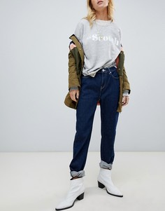 Maison Scotch High Five boyfriend jeans - Темно-синий