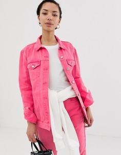 Свободная куртка Dr Denim - Розовый