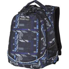 Рюкзак Polar 18301 Grey/Blue рюкзак