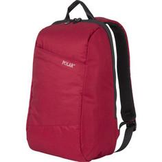 Рюкзак Polar К9173 Red USB рюкзак c креплением на Чемодан и потайным отделением