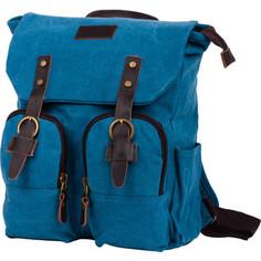 Рюкзак Polar П3788-04 синий рюкзак брезент