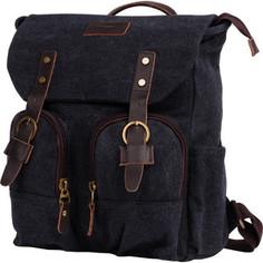 Рюкзак Polar П3788-05 черный рюкзак брезент