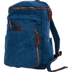 Рюкзак Polar П3392-04 синий рюкзак брезент