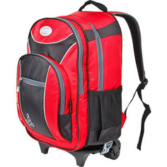 Рюкзак Polar П382 -01 красный рюкзак на колесах