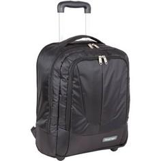 Cумка Polar П7102 черный Рюкзак с телегой на колесах