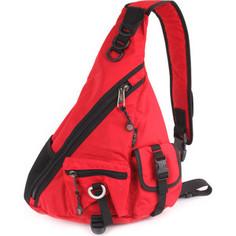 Рюкзак Polar П1378-01 красный рюкзак однолямочный