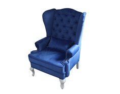 Каминное кресло Скотленд - Акция Велюр Аккорд