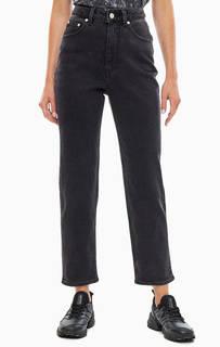Серые джинсы с высокой посадкой Donna Cheap Monday
