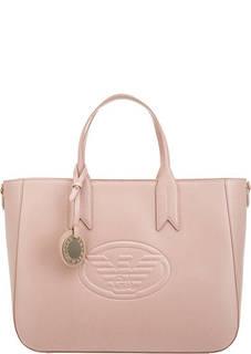 Вместительная сумка с одним отделом на молнии Emporio Armani