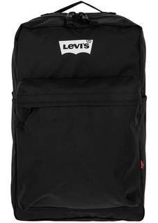 Вместительный текстильный рюкзак с широкими лямками Levis