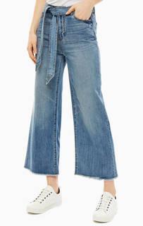 Широкие джинсы с необработанным краем J40 Armani Exchange