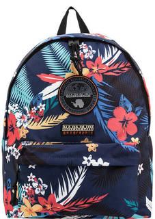 Рюкзак с цветочным принтом и нашивками Napapijri