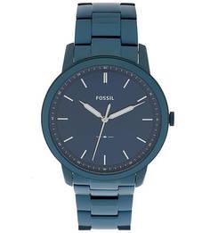 Водостойкие кварцевые часы с металлическим браслетом Fossil