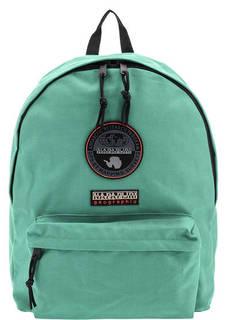 Рюкзак мятного цвета с нашивками Napapijri