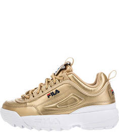Золотистые кроссовки Disputor ll Premium Fila