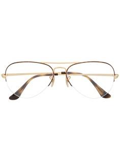 Ray-Ban очки в овальной оправе