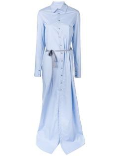 A.F.Vandevorst платье макси с длинными рукавами