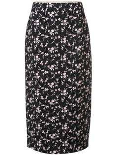 Nº21 юбка с цветочным принтом