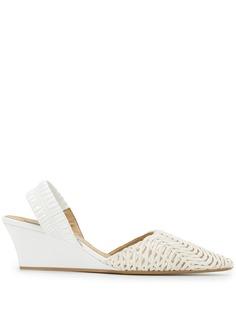 Stella McCartney плетеные туфли на танкетке